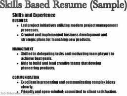 Skills On Resume Sample Formatted Templates Example