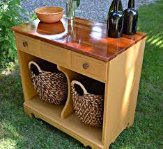 how to repurpose furniture. heir and space a warm yellow cupboard how to repurpose furniture