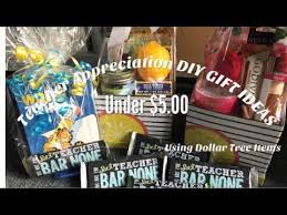 easy diy teacher appreciation gifts under 5 00 dollars using dollar tree items quick easy