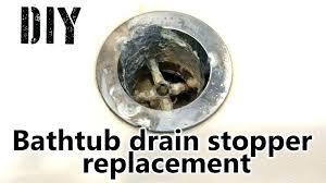 bathtub drain leak repair fix bathtub drain bathroom prissy design how to fix bathtub drain home