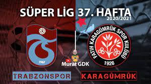 TRABZONSPOR - KARAGÜMRÜK ( Süper Lig 37. Hafta Maçı ) / FIFA 21 - PES 2021  - YouTube
