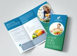 Templates For Brochures Free Download Nutrition Options Brochure Template Templates Free Download