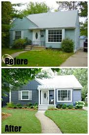 Ranch House Curb Appeal 38 Best Curb Appeal Before And After Images On Pinterest
