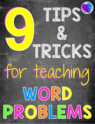 online chemistry problem solver dr layne morsch department of  tips and tricks for teaching word problems to be teaching and math word problems elementary students