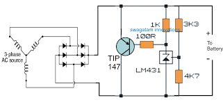 motorcycle full wave shunt regulator circuit electronic circuit an even simpler motorcycle shunt regulator using the shunt regulator ic tl431 can be witnessed below the 3k3 resistor can eb tweaked to chnage the output