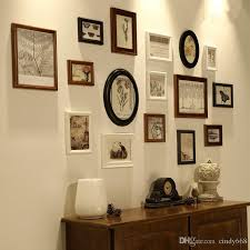 2021 vintage wall wooden photo frames