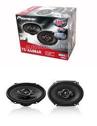 pioneer 6x8 speakers. car speakers and speaker systems: pioneer ts-a6886r 350 watt 6 x 8 4 6x8