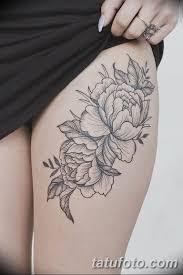 фото тату белые цветы18062019 097 Tattoo White Flowers