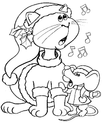 Small Picture Coloring Pages Cat And Mouse Coloring Pages
