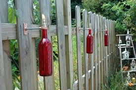 glass tiki torches cool good design with wine bottle kmart