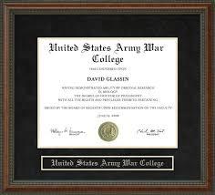united states army war college usawc diploma frame wordyisms united states army war college usawc diploma frame