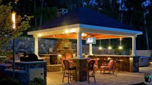 Outdoor Gazebo Lighting Mesmerizing Gazebo Lights Provide Special Light For Your Romantic Night