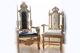 throne chair al gold king chair