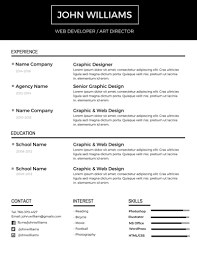 Amazing Resume Templates Fascinating 48 Most Professional Editable Resume Templates For Jobseekers