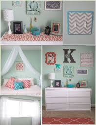 coral bedroom ideas. love my mint and coral creation. lots bedroom ideas
