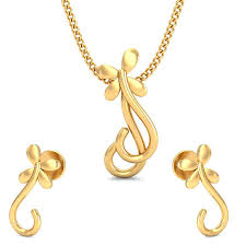 gold pendant design the casual gold pendant set