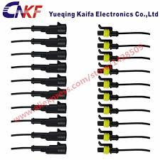 compare prices on 5 wire harness online shopping buy low price 5 5 sets 1 pin super sealed waterproof electrical auto connector amp car 282103 1 282079