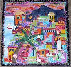 82 best Happy Village Quilts images on Pinterest | House quilts ... & Yum_Yum_Tree_s.jpg Happy Villages by the Quilted Lizard Adamdwight.com