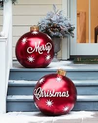 Large Plastic Christmas Bell Decorations Best Outdoor Merry Christmas Ornaments Set Of 32 All Things Christmas