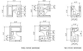 Small Picture 6 Option Dimension Small Bathroom Floor Plans layout Great for