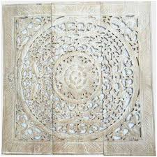 white carved wood wall decor luxury white wood wall decor unique elegant wood carved wall