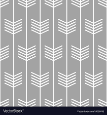 Arrow Pattern Enchanting Arrow Pattern Seamless Scandinavian Design Vector Image