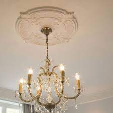lightweight victorian ceiling rose