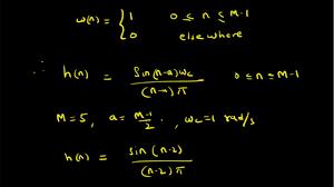 Matlab Code For Fir Filter Design Using Rectangular Window Fir Filter Design Using Rectangular Window