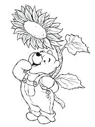 Preschool Spring Coloring Pages Springtime Coloring Pages The Pooh