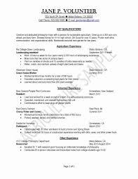 Recent College Grad Resume Ideal Recent College Graduate Resume