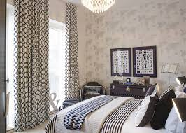 Modern French Bedroom Bedroom Modern French Bedroom Design With White Patterned Drapes