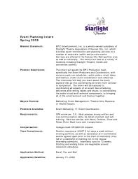Theatre Internship Cover Letter Examples 10 Marketing Specialist Cover Letter Resume Samples