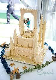 Sandcastle Wedding Cake Cake By Stacked Cakesdecor