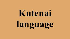 「the Kutenai」の画像検索結果