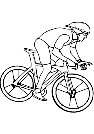 With customized characters, you have chance to color among us images with many skins, hats and pets. Coloring Pages Bicycle Riding Coloring Page For Kids