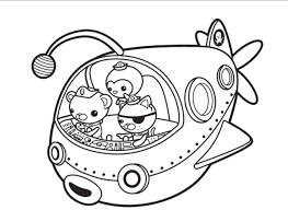Small Picture Adult Octonaut Coloring Pages Octonauts Gup X Throughout Octonauts