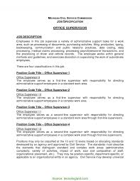 Typical Office Manager Job Description Template Medical Office
