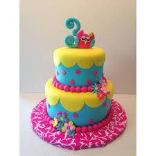 Kids Birthday Fondant Cake 4 Kg This Two Floor Cake Will Bring Big