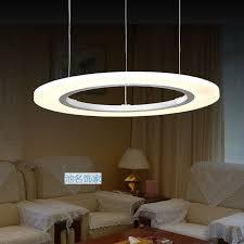 pendant lighting living room. 60cm modern circle led pendant lights 36w living room suspension hanglamp acrylic lighting for restaurants a
