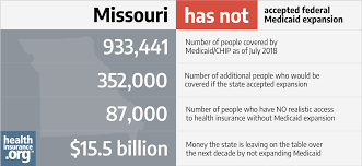 Missouri And The Acas Medicaid Expansion Eligibility