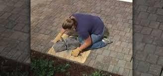 how to split or cut concrete landscape blocks construction repair wonderhowto