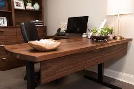 walnut office desks. walnut sit to stand desk office desks o