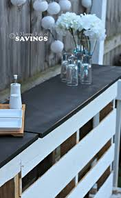 pallets patio furniture. Diy Patio Bar Out Of Wood Pallets Furniture