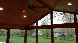 washington township oh screened porch builder