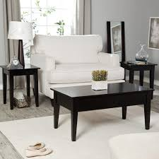 Living Room Table And Chairs Turner End Table Espresso End Tables At Hayneedle