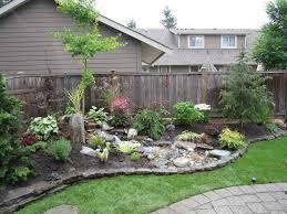 Image of: Beauty Backyard Landscape Ideas On A Budget