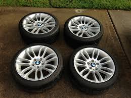 All BMW Models bmw 195 wheels : FS: OEM BMW Style 195 Wheels w/ Bridgestone Potenza RFT, TPMS ...