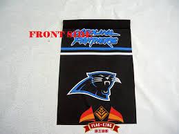 carolina panthers garden flag. Carolina Panthers Garden Flag, 30*45 CM Size,280g/m2 Fabric Double Flag S