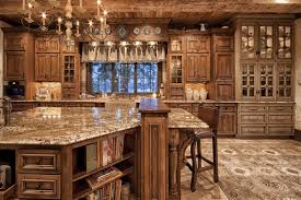 Contemporary Custom Country Kitchen Cabinets Extraordinary Img 2824 2 To Decorating Ideas