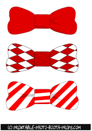 Christmas Bow Tie Clipart